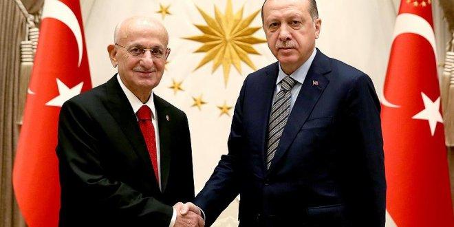 Erdoğan, Kahraman ve Tuna'yı kabul etti