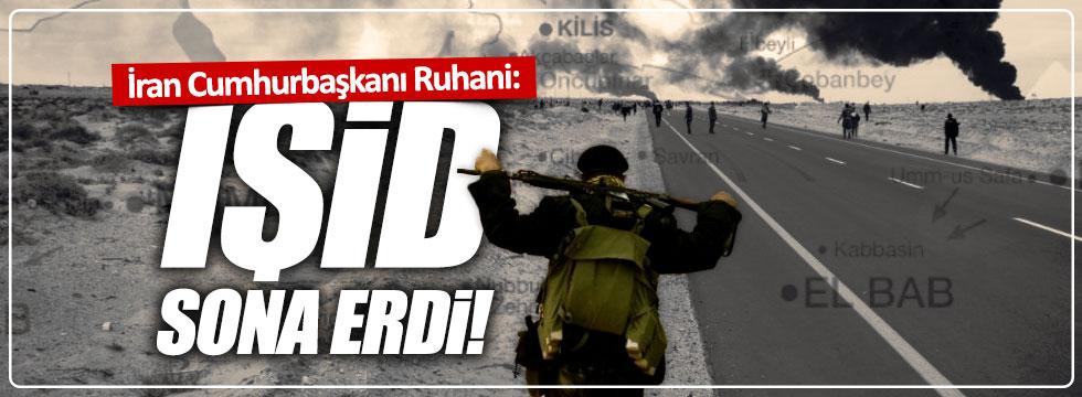 "Ruhani: ""IŞİD sona erdi"""