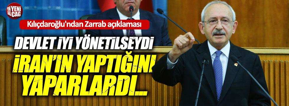 Kılıçdaroğlu'ndan Zarrab açıklaması