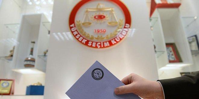 YSK teklifi TBMM Başkanlığına sunuldu