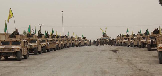 ABD'den terör örgütüne 120 zırhlı Hummer Jip ve çok sayıda silah