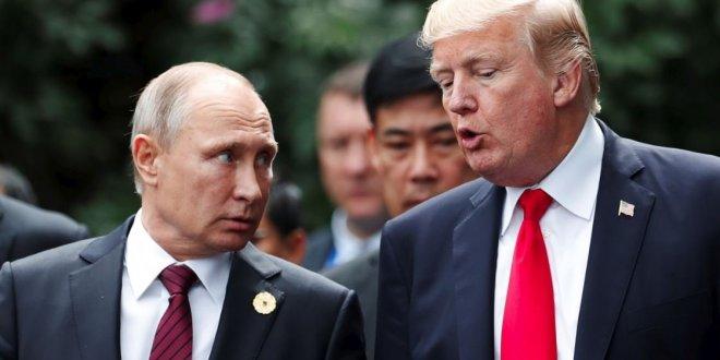 Putin ve Trump görüştü