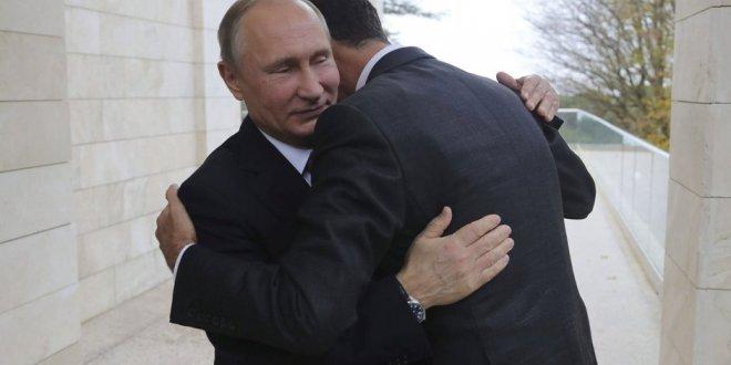 ABD'den Putin, Esad  kucaklaşmasına tepki!
