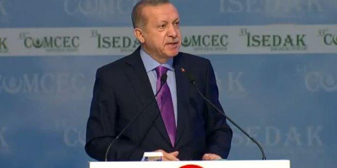 """Cumhurbaşkanı Erdoğan, """"Ülkelerimizin parçalanması kimin işine geliyor"""""""