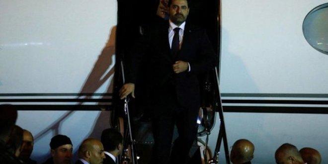 Lübnan'a dönen Başbakan Hariri'nin istifası askıya alındı