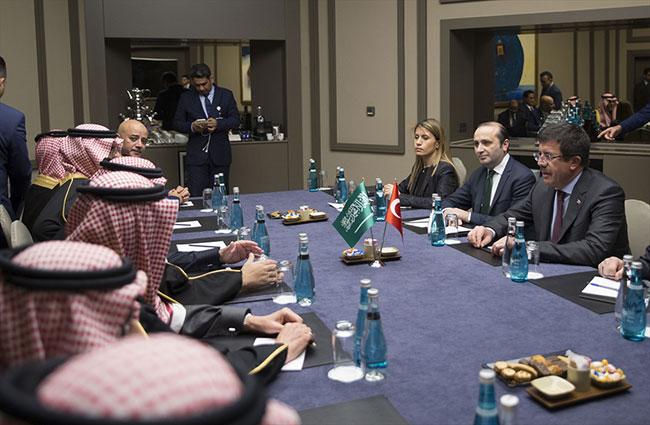 Ekonomi Bakanı Zeybekci, Suudi patronlardan destek istedi
