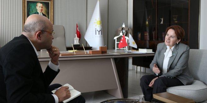 """Akşener, tavrını açık koydu... """"Erdoğan ile ittifak düşünmem"""""""