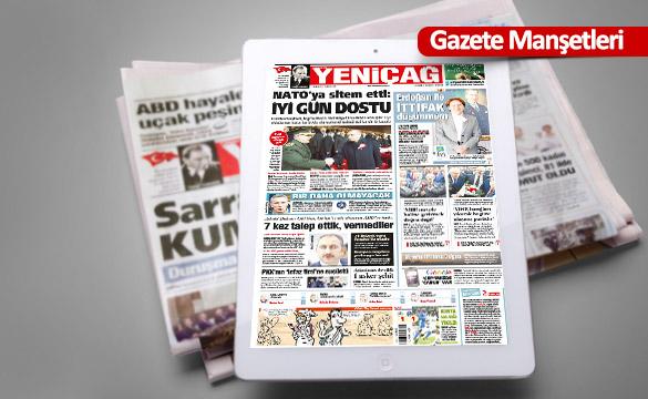 Günün Ulusal Gazete Manşetleri - 21 01 2018