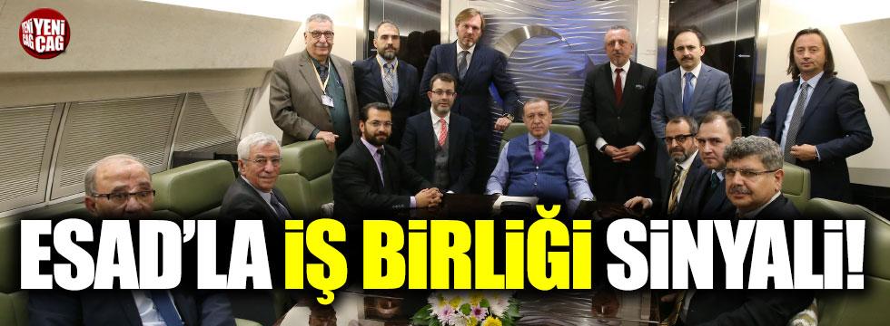 Erdoğan'dan Esad'la iş birliği sinyali