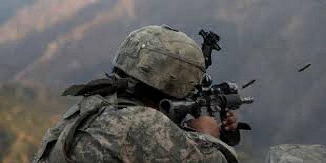 Giresun'da PKK'lı teröristlerle çatışma