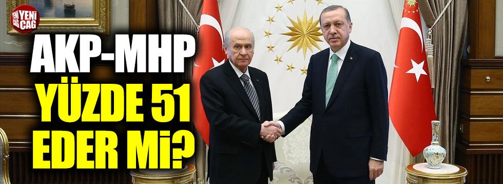 AKP-MHP yüzde 51 eder mi?