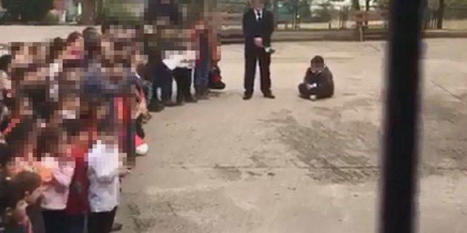 24 Kasım'da ilkokul öğrencisine cezaya tepki