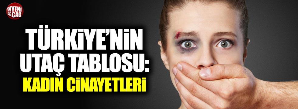 Türkiye'de kadın cinayetinde korkutan rakamlar