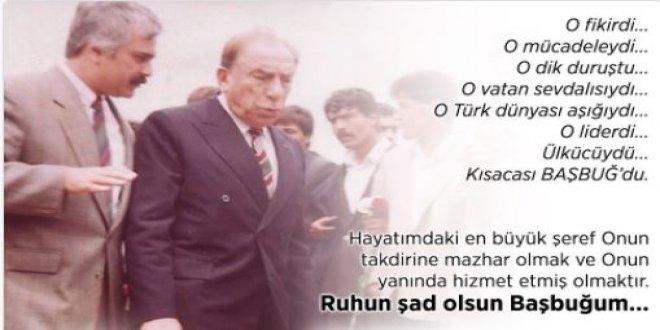Koray Aydın'dan Alparslan Türkeş paylaşımı