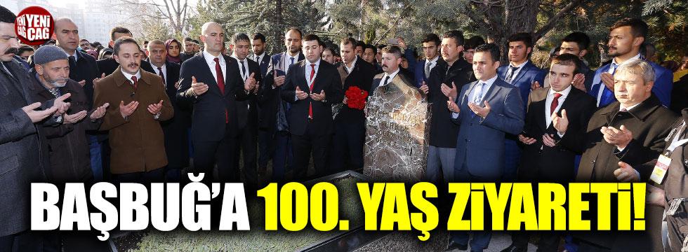 Başbuğ'a 100. yaş ziyareti