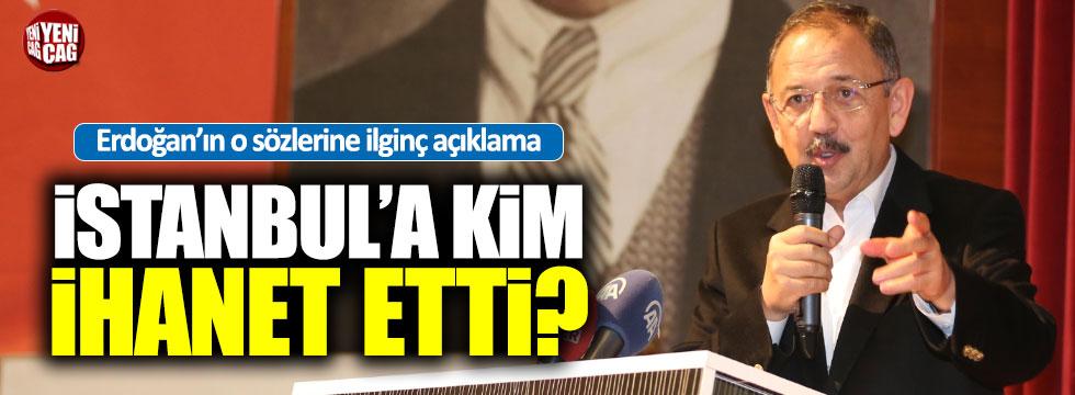Erdoğan'ın 'İhanet ettik' sözlerine ilgin açıklama