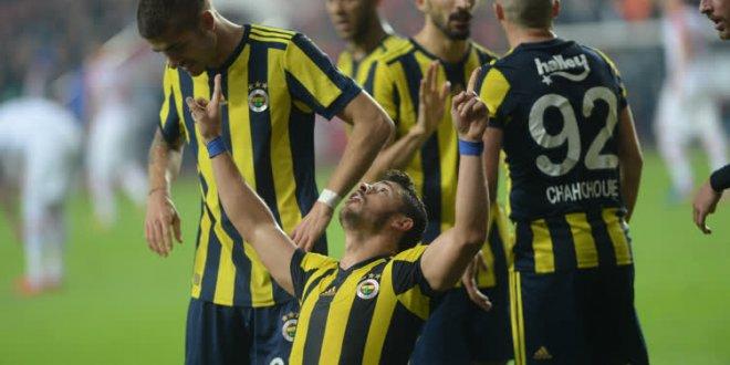 Antalyaspor-Fenerbahçe 0-1 (Maç Özeti)