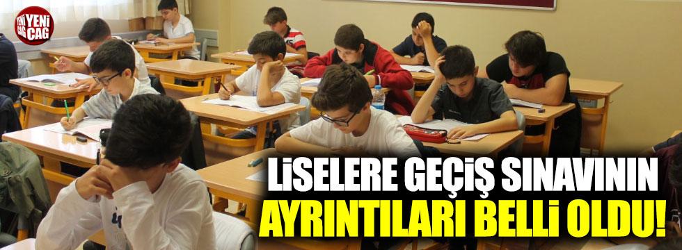 Milli Eğitim Bakanı liselere giriş sınavının detaylarını açıkladı