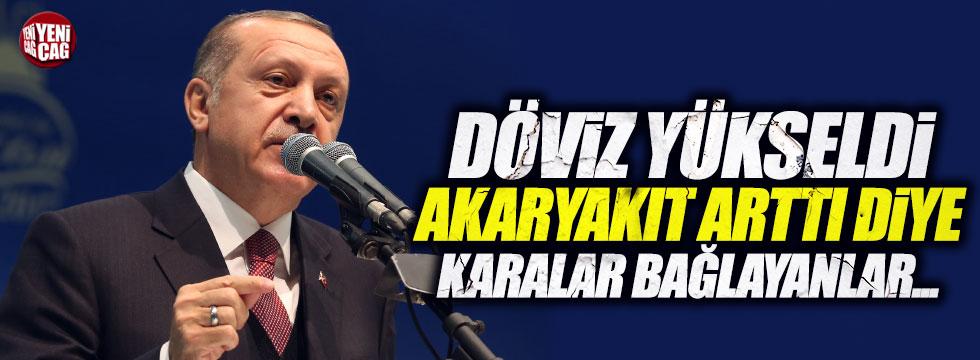Erdoğan'dan ilginç dolar açıklaması