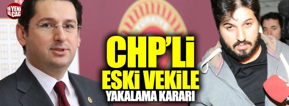 Zarrab davası için CHP'li Aykan Erdemir'e yakalama kararı