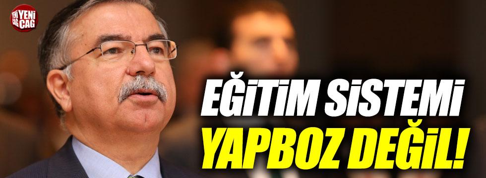 """Milli Eğitim Bakanı İsmet Yılmaz: """"Eğitim sistemi yapboz değil"""""""