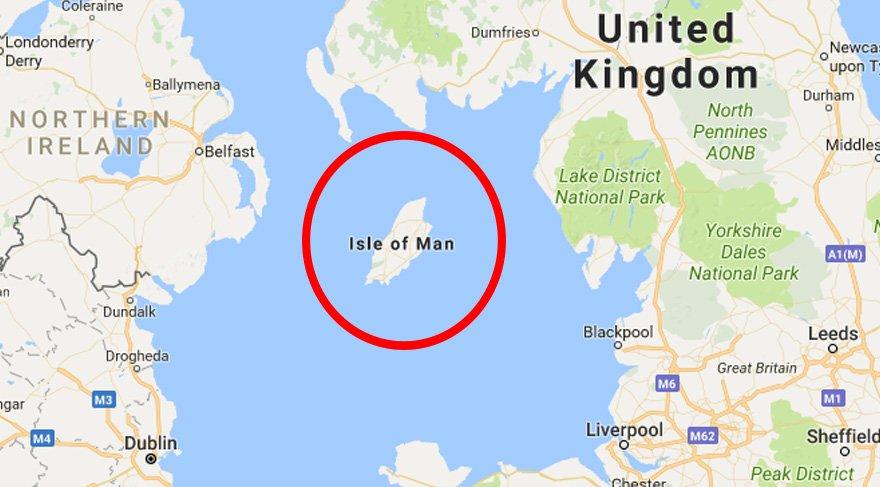 Man Adası nerede?