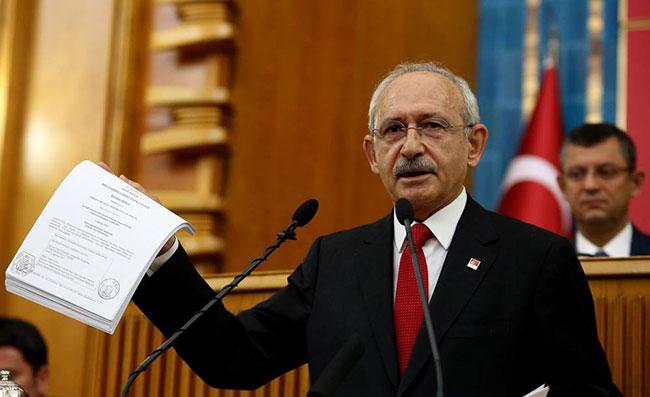 """CHP: """"Kılıçdaroğlu ve ailesinin mal varlığı araştırılsın"""""""