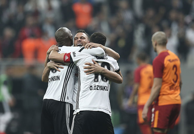 Beşiktaş Galatasaray: 3-0 / Maç özeti