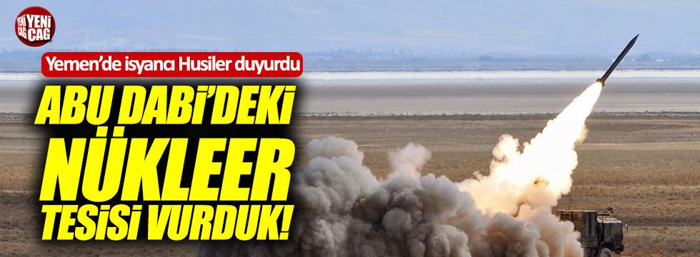 Husiler, Abu Dabi'ye Füze Fırlattı