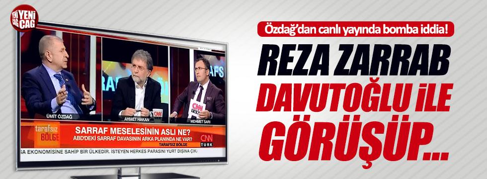 Ümit Özdağ'dan, Reza Zarrab ile ilgili bomba iddia!