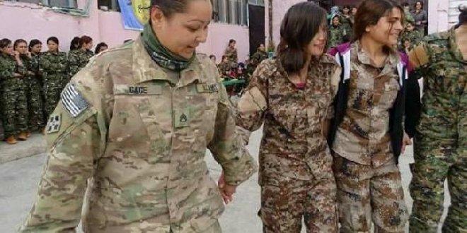 Suriye'de PKK-ABD halayı!