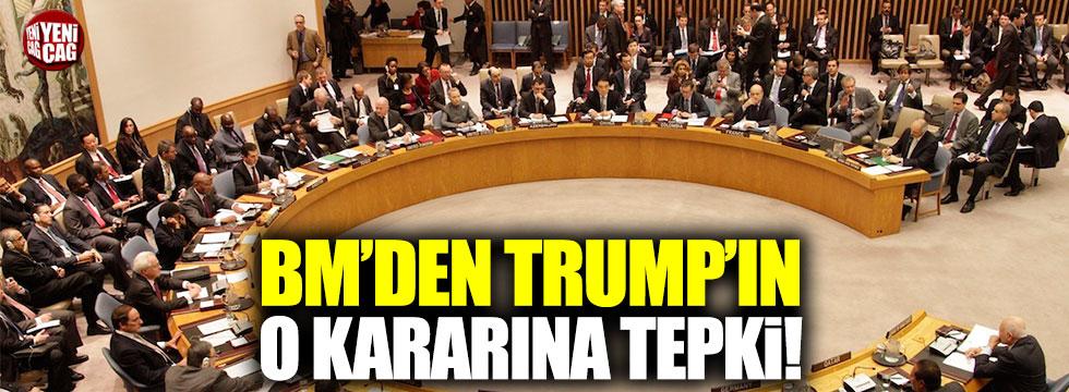 """BM'den Trump'a: """"Kaygılarla dolu bu zamanda..."""""""