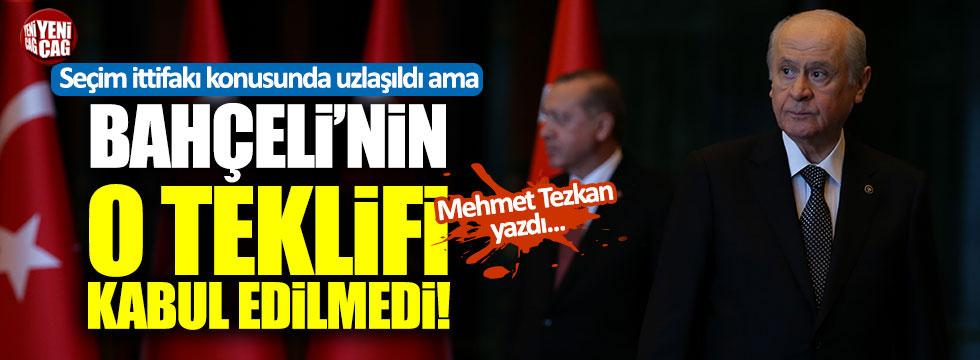 """Tezkan: """"MHP, AKP listesinden seçimlere girecek"""""""
