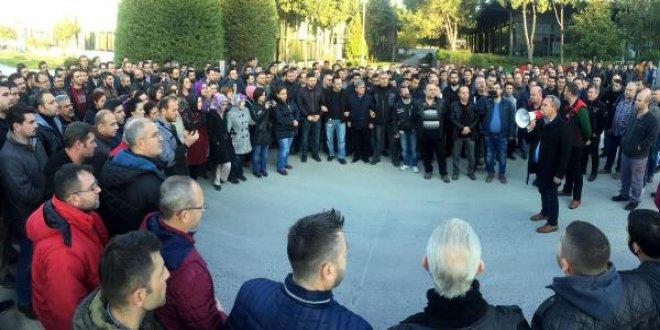 Manisa'da 4 bin 500 işçi grevde
