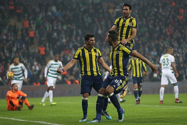 Bursaspor Fenerbahçe: 0-1 / Maç özeti