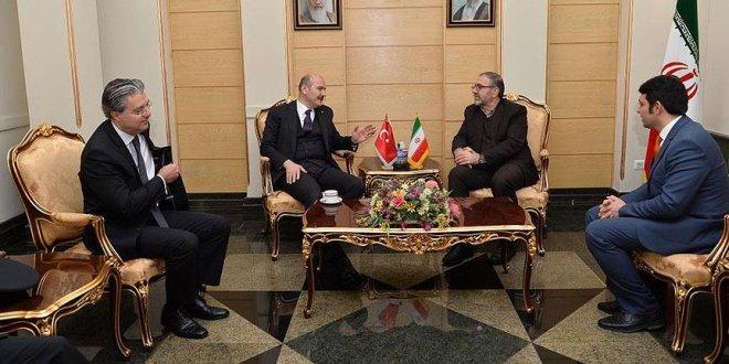 İçişleri Bakanı Soylu İran'da