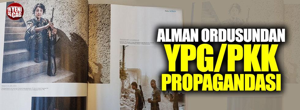 Alman ordusundan YPG/PKK skandalı