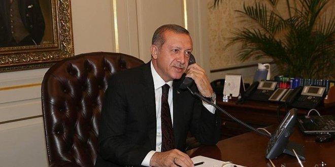Erdoğan'dan Kudüs telefonu!