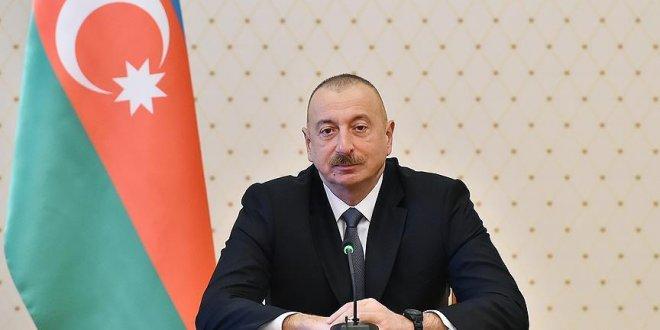 """Aliyev: """"Trump'ın Kudüs kararı uluslararası hukuka aykırı bir adım"""""""