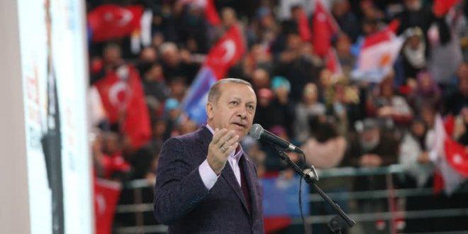 Erdoğan: Trump'ın açıklaması bizim için yok hükmündedir