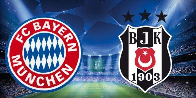 Beşiktaş'ın Şampiyonlar Ligi rakibi Bayern Münih!