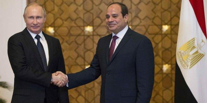 Putin ve Sisi'den nükleer santral anlaşması