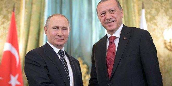 Putin, Erdoğan görüşmesi