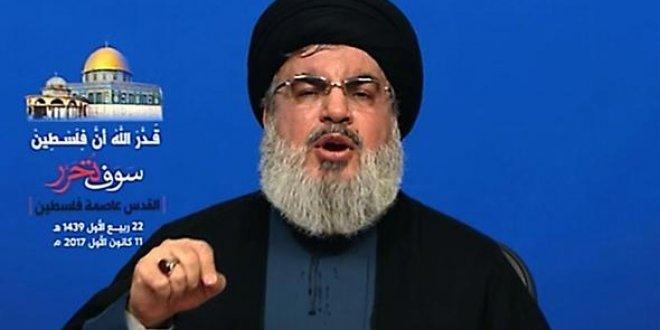 Hizbullah'tan çok sert Kudüs açıklaması