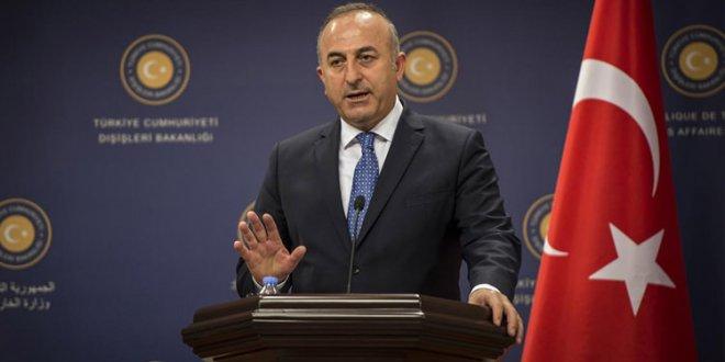Dışişleri Bakanı Çavuşoğlu'ndan flaş açıklamalar