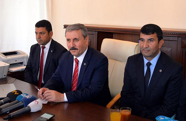 Mustafa Destici'den CHP'ye çağrı