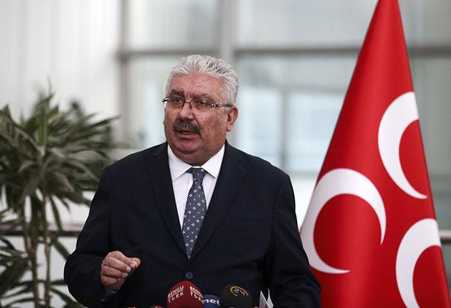 """MHP'li Semih Yalçın: """"Oy kaygımız yok fakat güçlü parlamento için ittifak önemli"""""""
