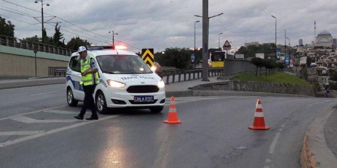 İstanbul'da o yollar trafiğe kapatıldı