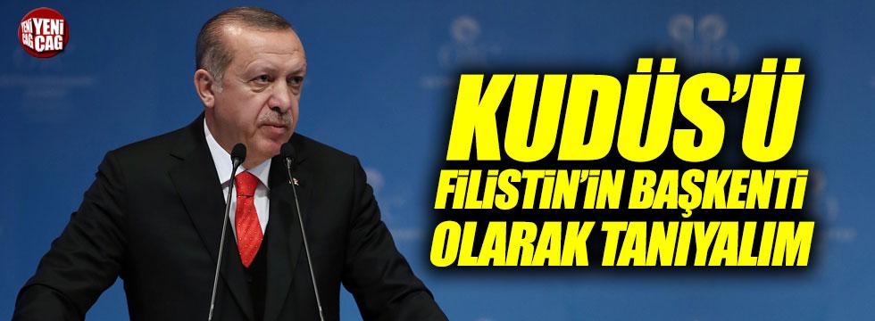Erdoğan'dan İslam Ülkelerine Kudüs çağrısı
