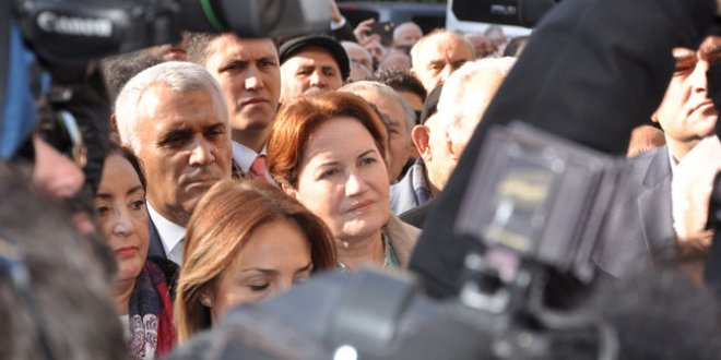 Akşener, Kızıltuğ'un cenazesine katıldı
